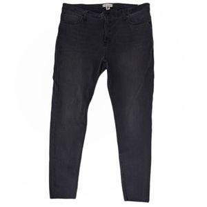 "Madewell 10"" High-Rise Skinny Jeans Kerns Wash 35"